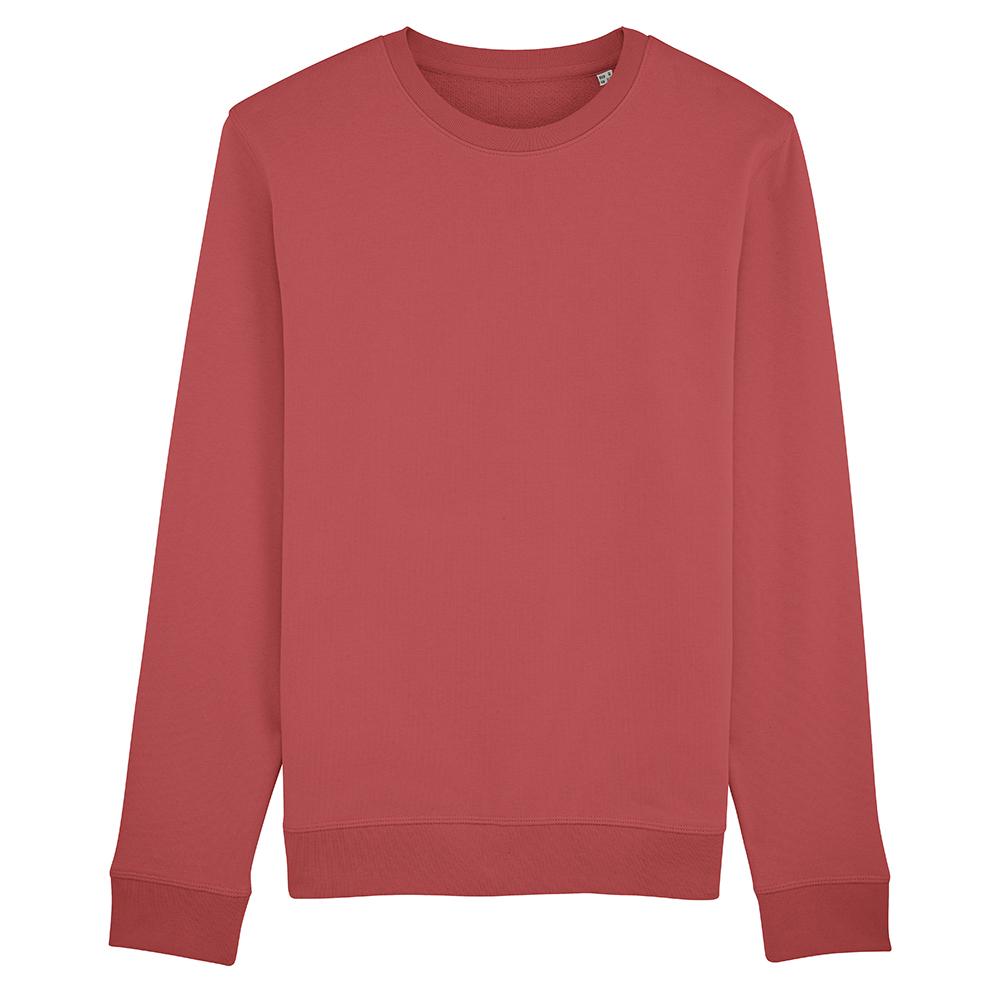 Bluzy - Bluza Crewneck Rise - Stanley/Stella STSU811 - Carmine Red - RAVEN - koszulki reklamowe z nadrukiem, odzież reklamowa i gastronomiczna