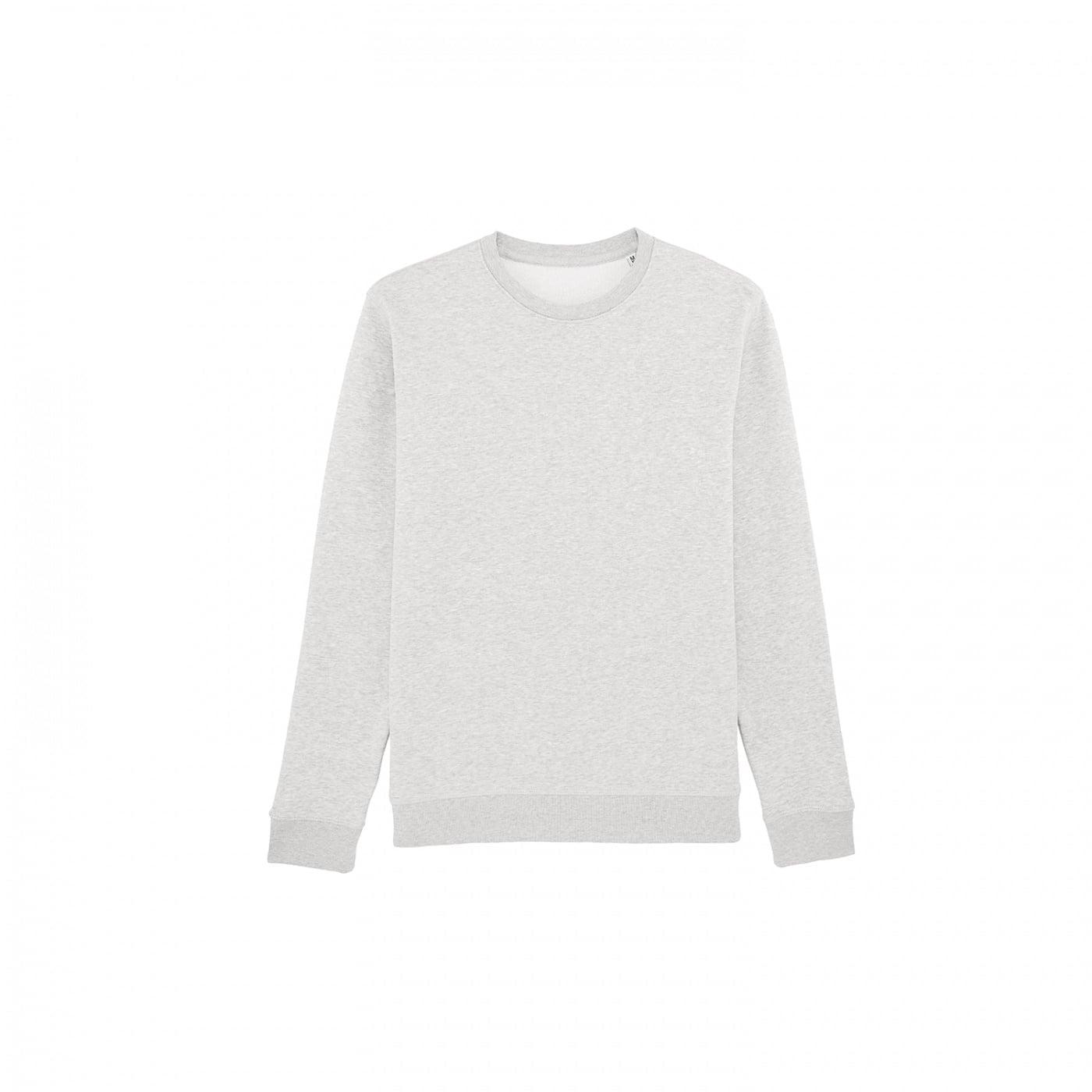 Bluzy - Bluza Crewneck Rise - Stanley/Stella STSU811 - Cream Heather Grey - RAVEN - koszulki reklamowe z nadrukiem, odzież reklamowa i gastronomiczna