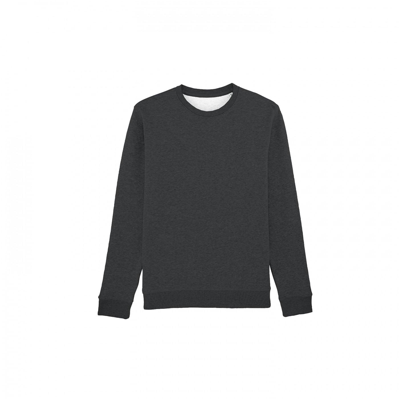 Bluzy - Bluza Crewneck Rise - Stanley/Stella STSU811 - Dark Heather Grey  - RAVEN - koszulki reklamowe z nadrukiem, odzież reklamowa i gastronomiczna