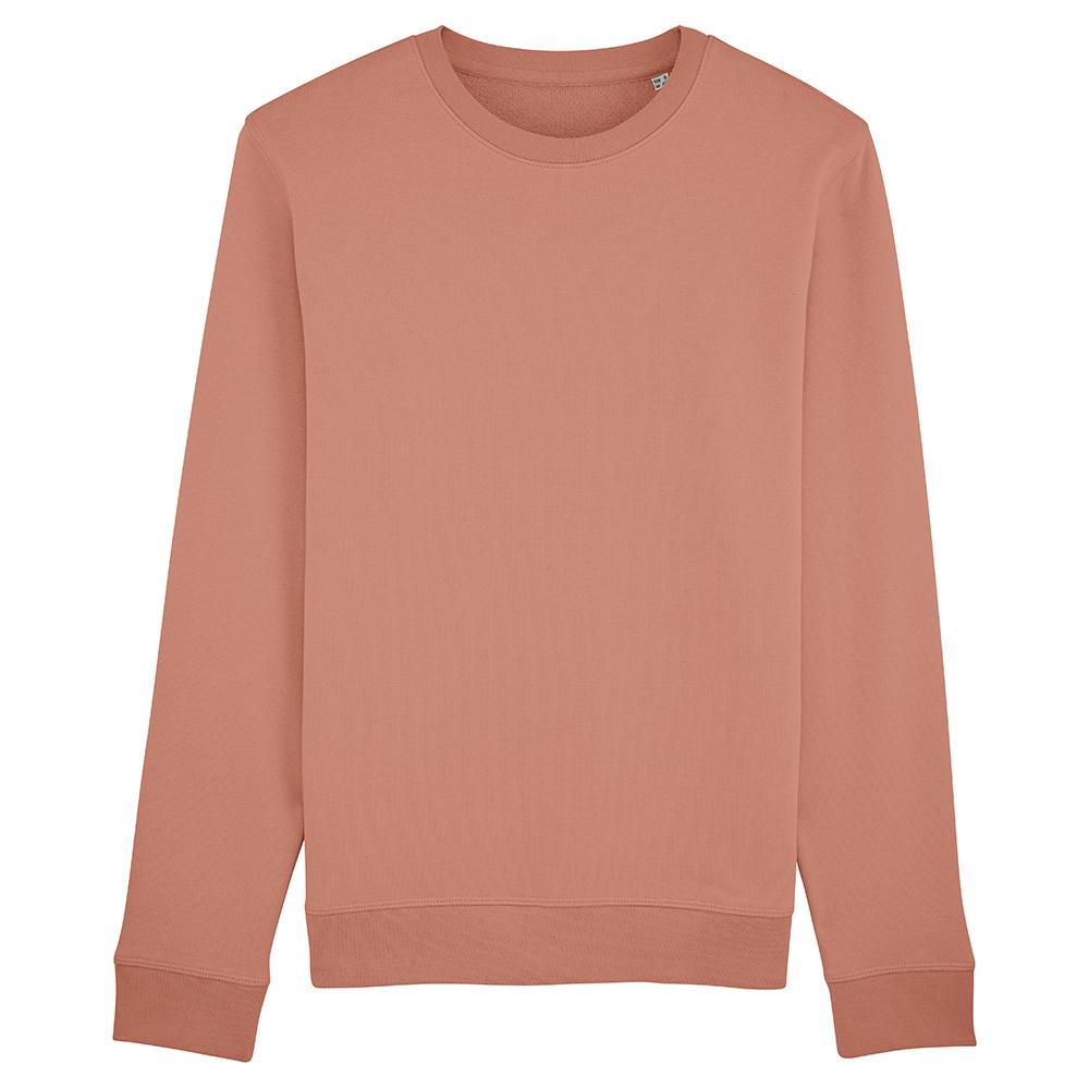 Bluzy - Bluza Crewneck Rise - Stanley/Stella STSU811 - Rose Clay - RAVEN - koszulki reklamowe z nadrukiem, odzież reklamowa i gastronomiczna