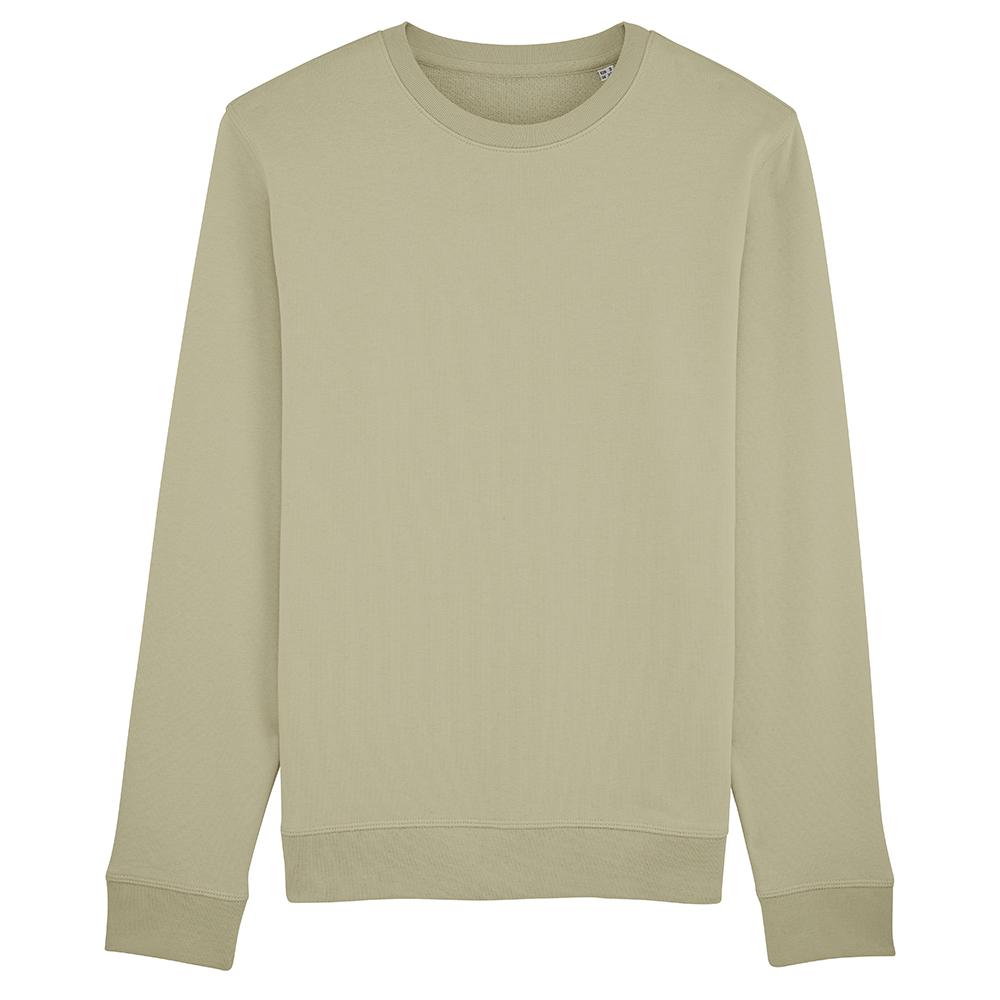 Bluzy - Bluza Crewneck Rise - Stanley/Stella STSU811 - Sage Green - RAVEN - koszulki reklamowe z nadrukiem, odzież reklamowa i gastronomiczna