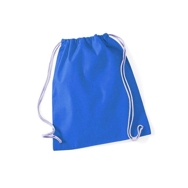 Torby i plecaki - Worek festiwalowy Cotton Gym - W110 - Sapphire Blue - RAVEN - koszulki reklamowe z nadrukiem, odzież reklamowa i gastronomiczna