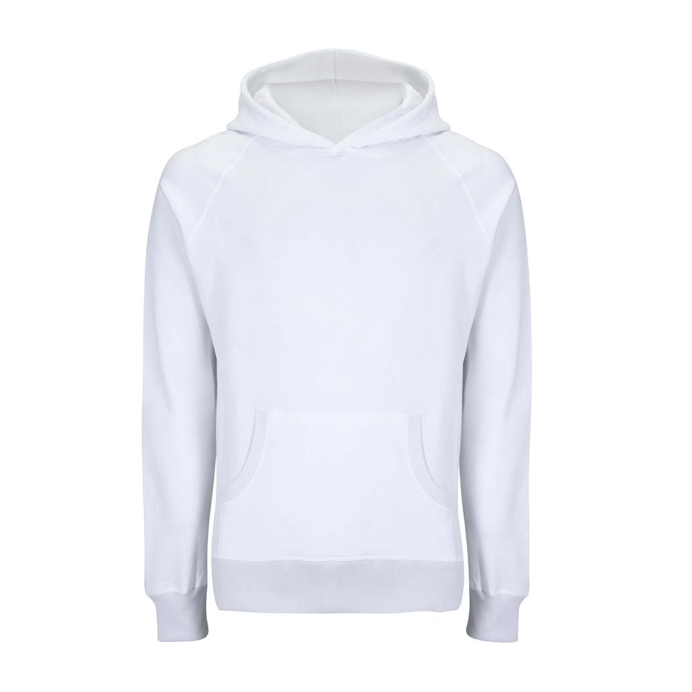 Bluzy - Bluza Unisex Pullover SA41P - DW - Dove White - RAVEN - koszulki reklamowe z nadrukiem, odzież reklamowa i gastronomiczna