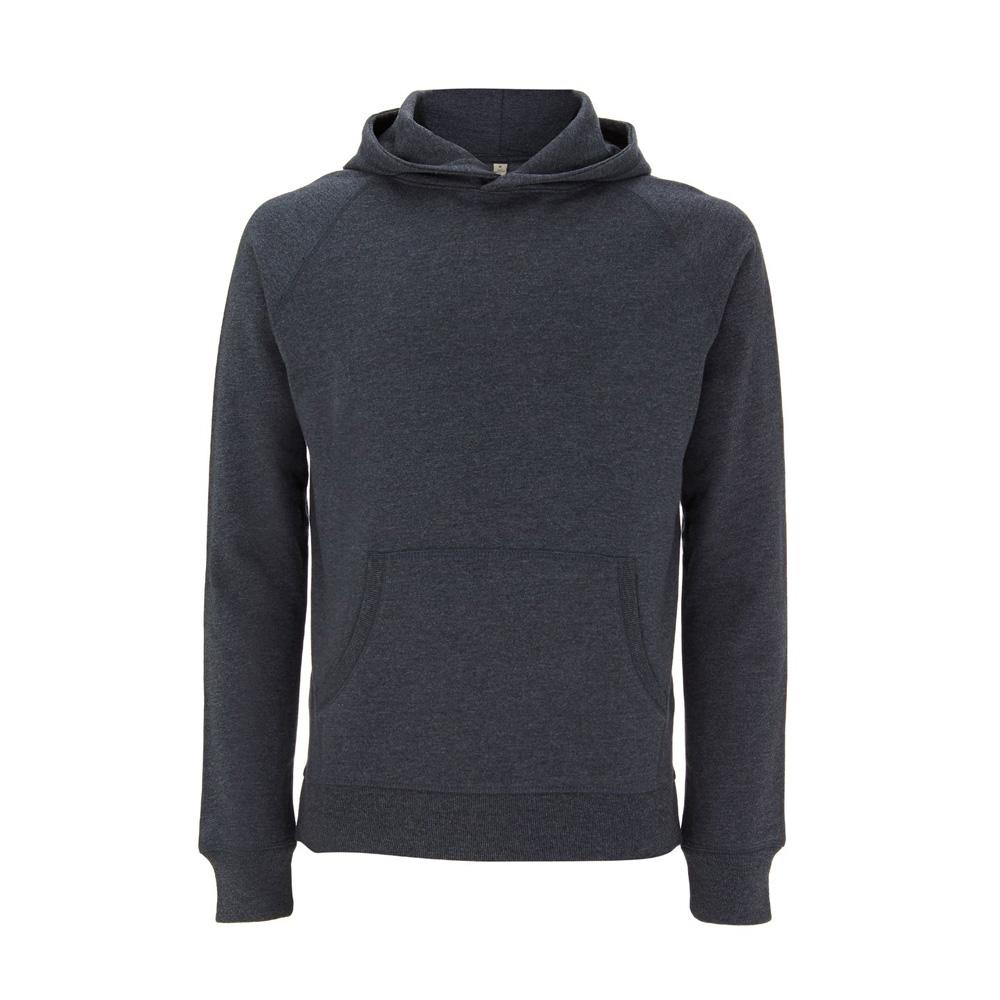 Bluzy - Bluza Unisex Pullover SA41P - MBL - Melange Black - RAVEN - koszulki reklamowe z nadrukiem, odzież reklamowa i gastronomiczna
