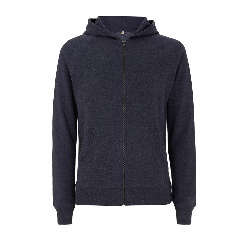 Bluzy - Bluza Unisex z Zamkiem SA41Z - MNA - Melange Navy - RAVEN - koszulki reklamowe z nadrukiem, odzież reklamowa i gastronomiczna