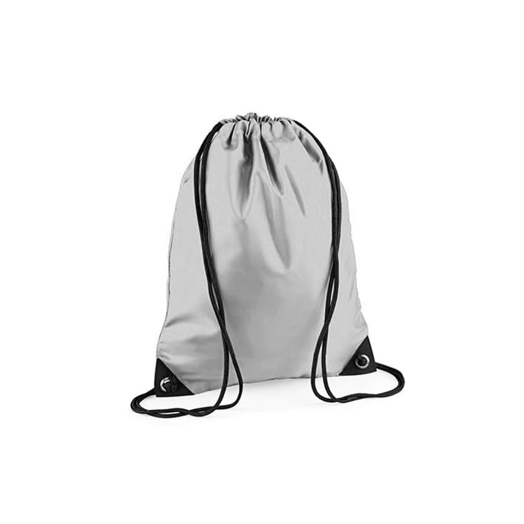 Torby i plecaki - Worek festiwalowy Premium - BG10 - Silver - RAVEN - koszulki reklamowe z nadrukiem, odzież reklamowa i gastronomiczna