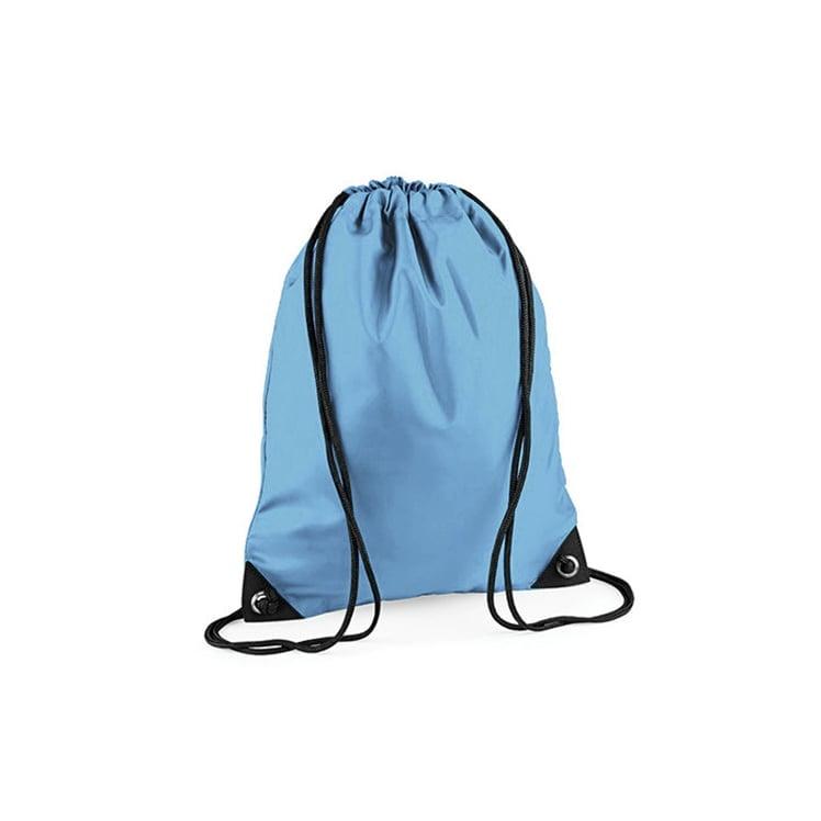 Torby i plecaki - Worek festiwalowy Premium - BG10 - Sky Blue - RAVEN - koszulki reklamowe z nadrukiem, odzież reklamowa i gastronomiczna