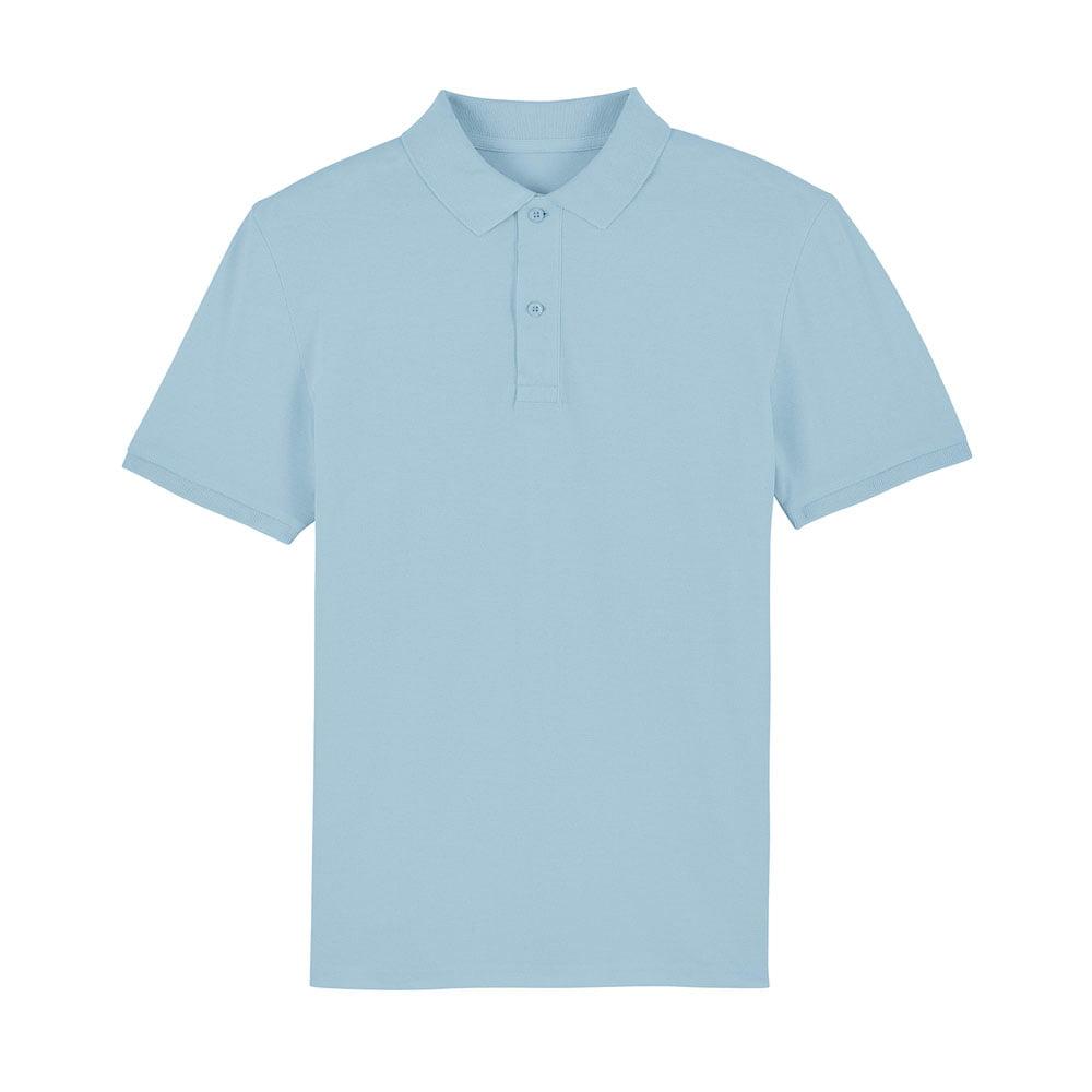 Koszulki Polo - Męska koszulka Polo Stanley Dedicator - STPM563 - Sky Blue - RAVEN - koszulki reklamowe z nadrukiem, odzież reklamowa i gastronomiczna