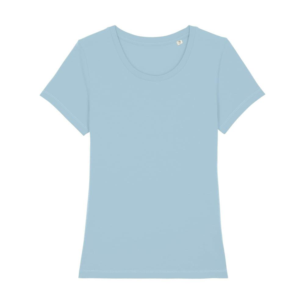Koszulki T-Shirt - Damski T-shirt Stella Expresser - STTW032 - Sky Blue - RAVEN - koszulki reklamowe z nadrukiem, odzież reklamowa i gastronomiczna