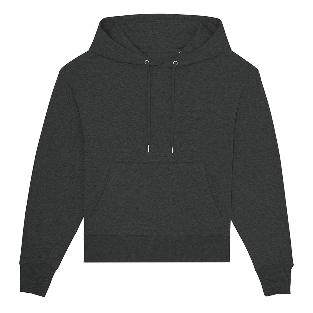 Bluzy - Bluza unisex Slammer - STSU856 - Dark Heather Grey  - RAVEN - koszulki reklamowe z nadrukiem, odzież reklamowa i gastronomiczna