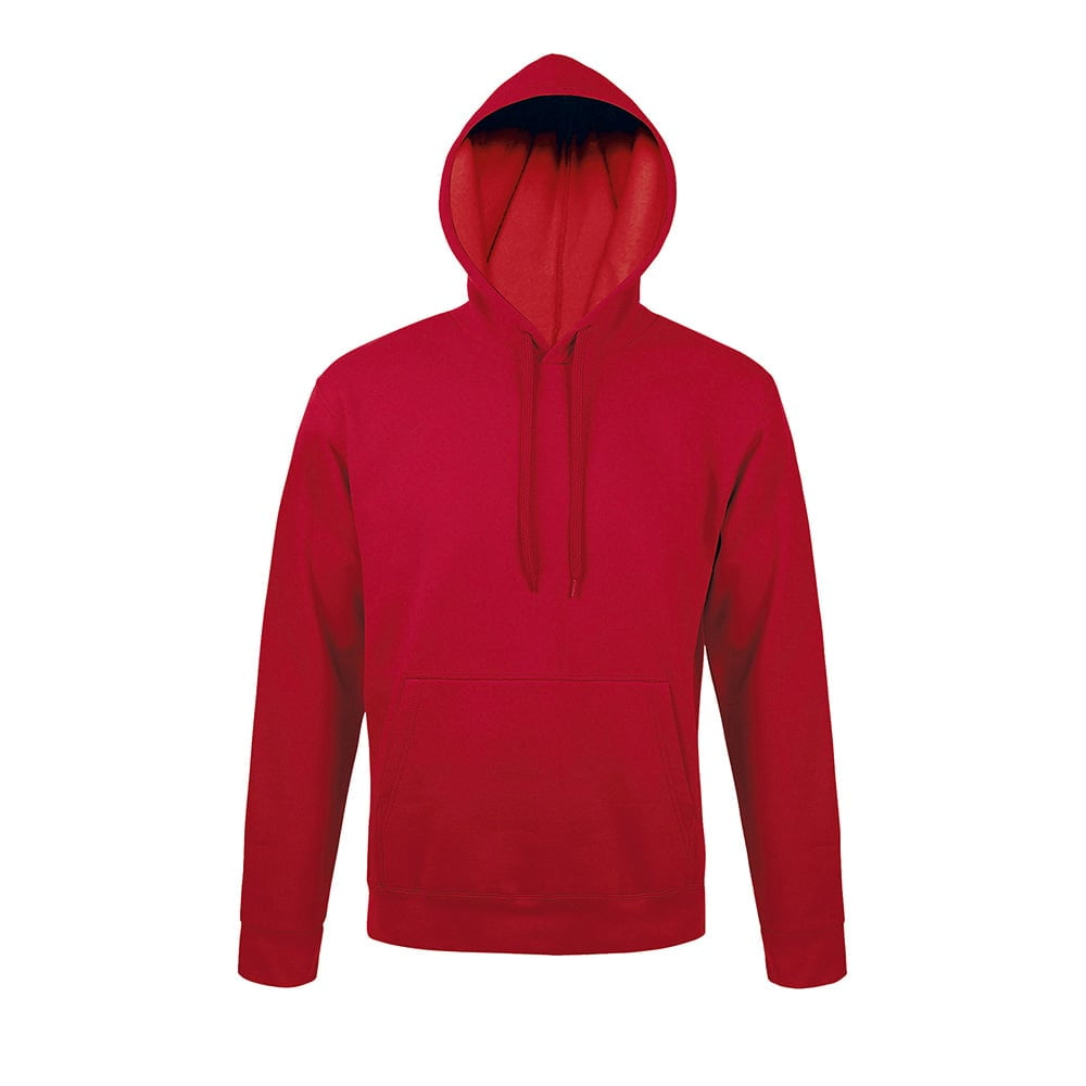 Bluzy - Bluza z kapturem Snake - Sol's 47101 - Red - RAVEN - koszulki reklamowe z nadrukiem, odzież reklamowa i gastronomiczna