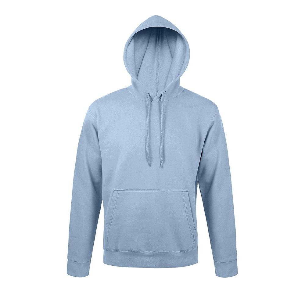 Bluzy - Bluza z kapturem Snake - Sol's 47101 - Sky Blue - RAVEN - koszulki reklamowe z nadrukiem, odzież reklamowa i gastronomiczna