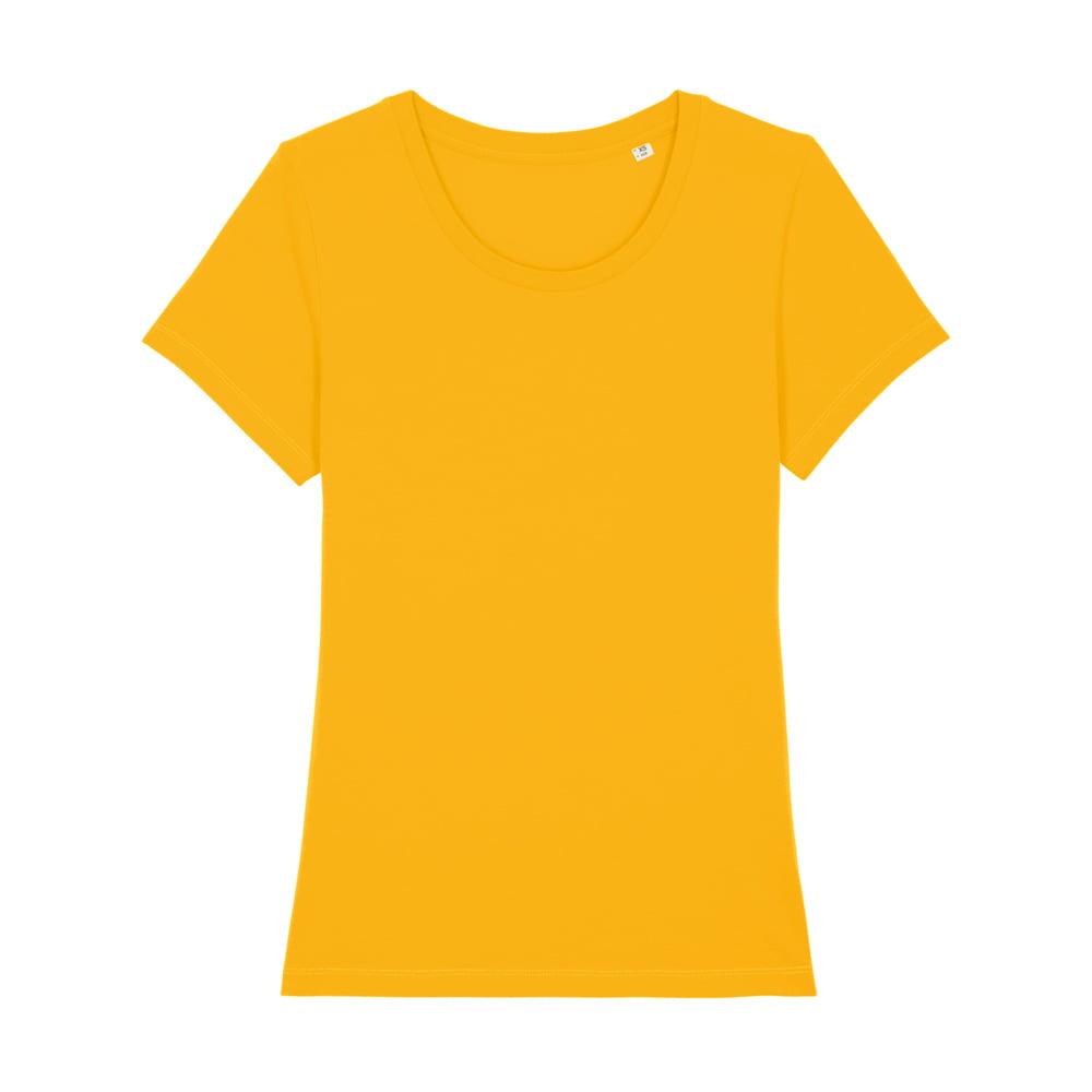 Koszulki T-Shirt - Damski T-shirt Stella Expresser - STTW032 - Spectra Yellow - RAVEN - koszulki reklamowe z nadrukiem, odzież reklamowa i gastronomiczna