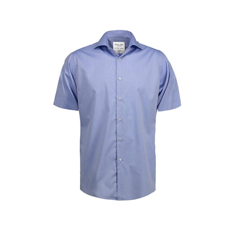 Biznesowa koszula z tkaniny fine twill z wykończeniem non iron SS254