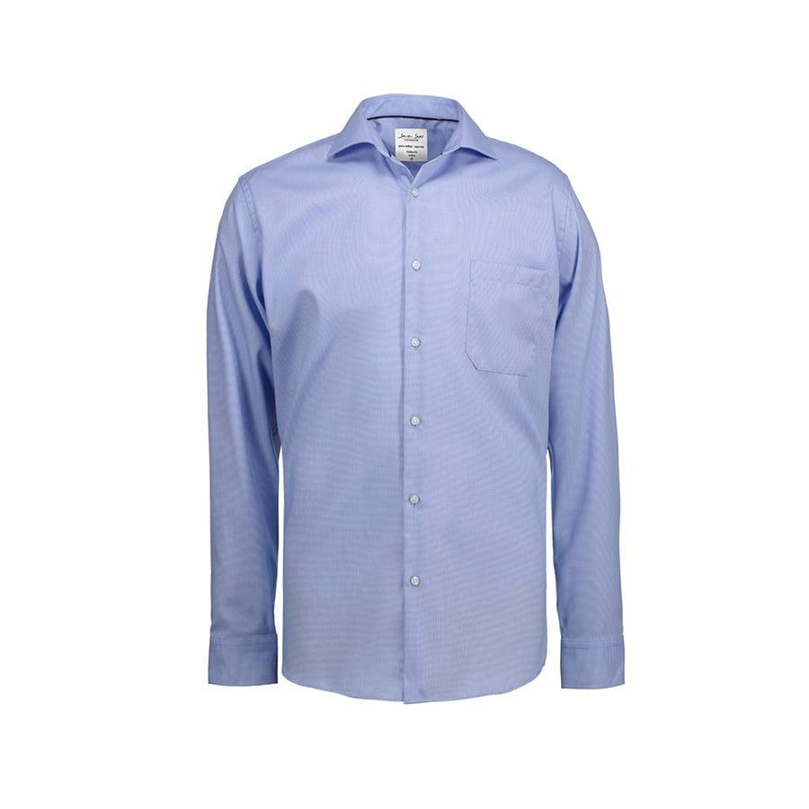 Elegancka koszula biznesowa z tkaniny Oxford Modern Fit SS310