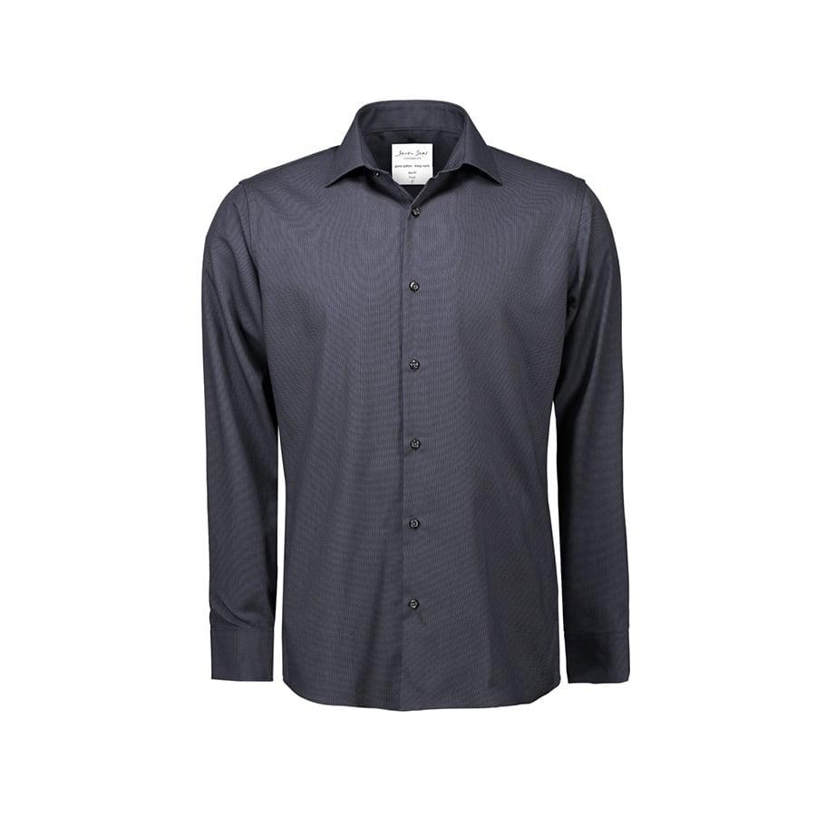 Elegancka koszula biznesowa z tkaniny Oxford Slim Fit SS311