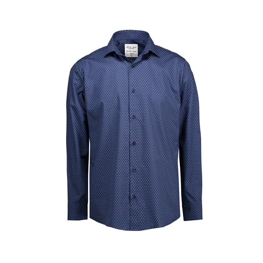 Koszula z nadrukiem z tkaniny z wykończeniem easy-care Modern SS342