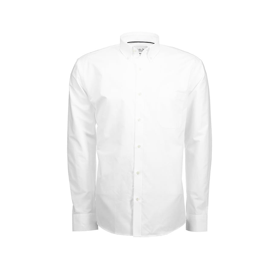 Koszula Oxford z kołnierzykiem na guziki SS56