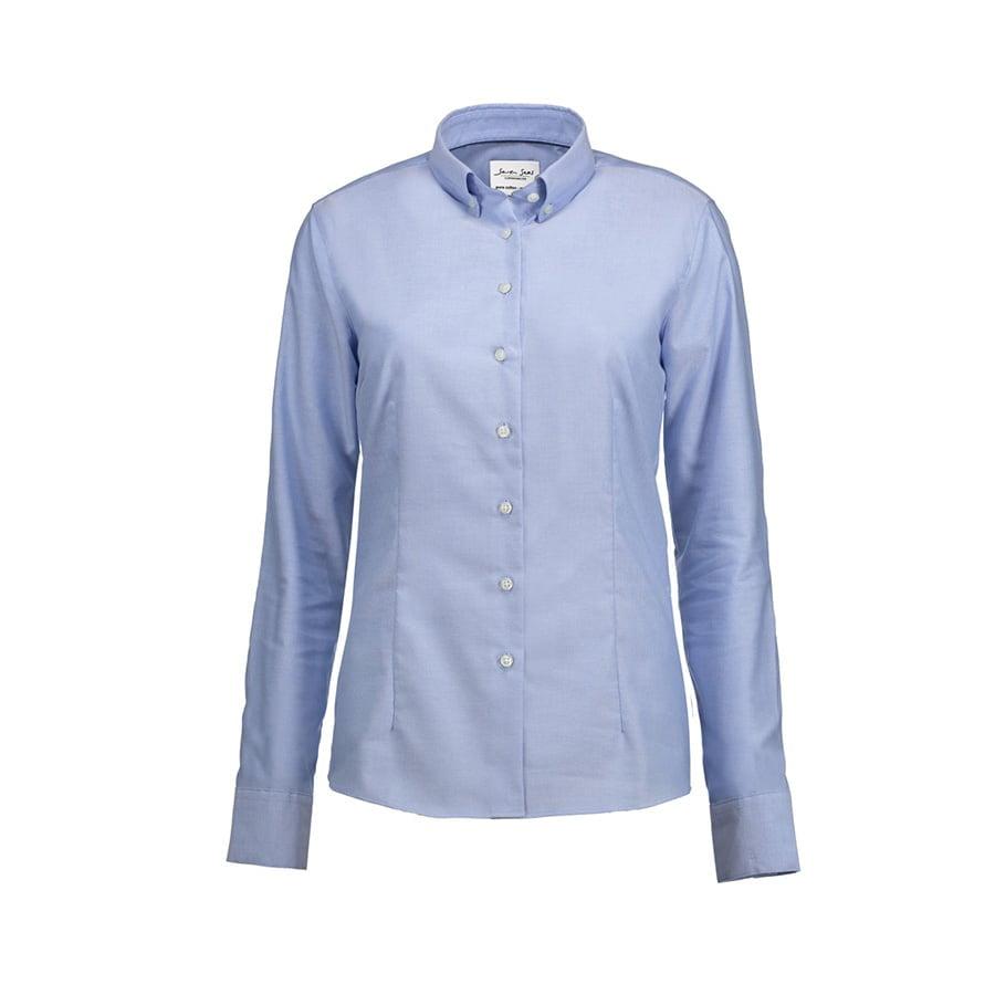 Prosta i klasyczna bluzka z miękkiej popeliny SS710