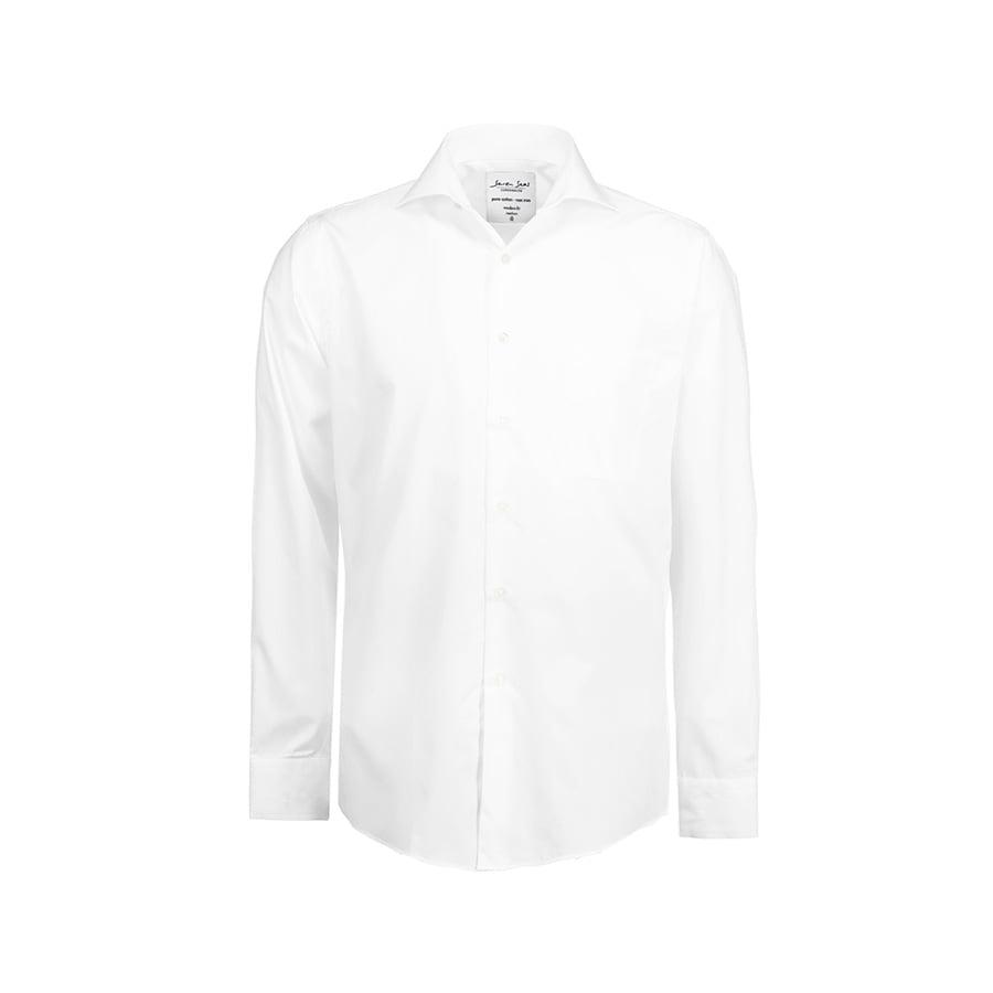 Prosta i klasyczna koszula z miękkiej popeliny SS7