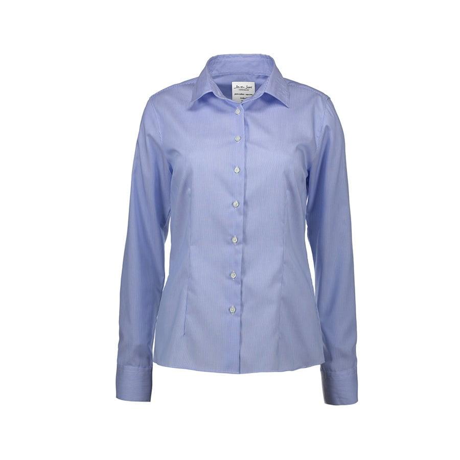 Biznesowa bluzka fine twill z wykończeniem non iron SS730