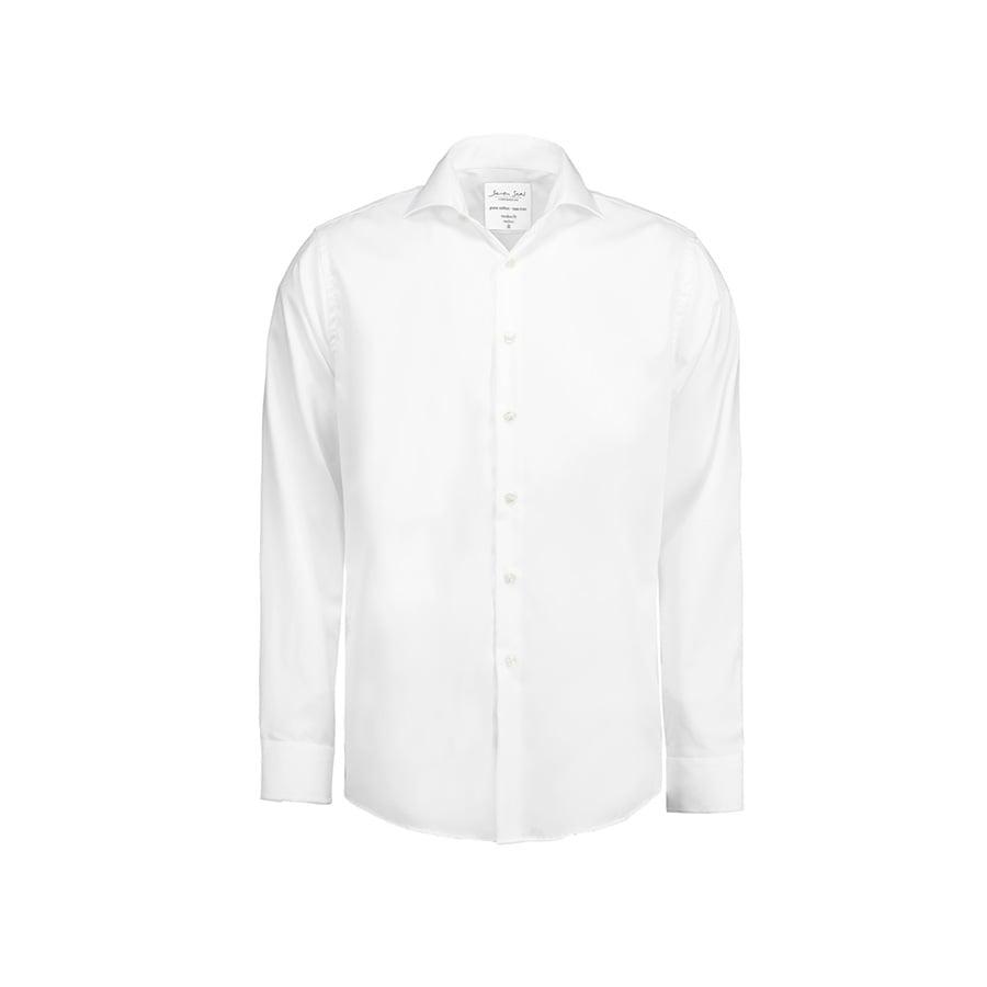 Koszule i bluzki - Biznesowa koszula z tkaniny fine twill SS8 - Seven Seas SS8 - White - RAVEN - koszulki reklamowe z nadrukiem, odzież reklamowa i gastronomiczna