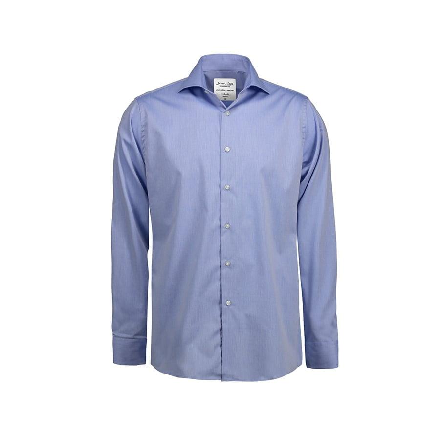 Biznesowa koszula z tkaniny fine twill SS8