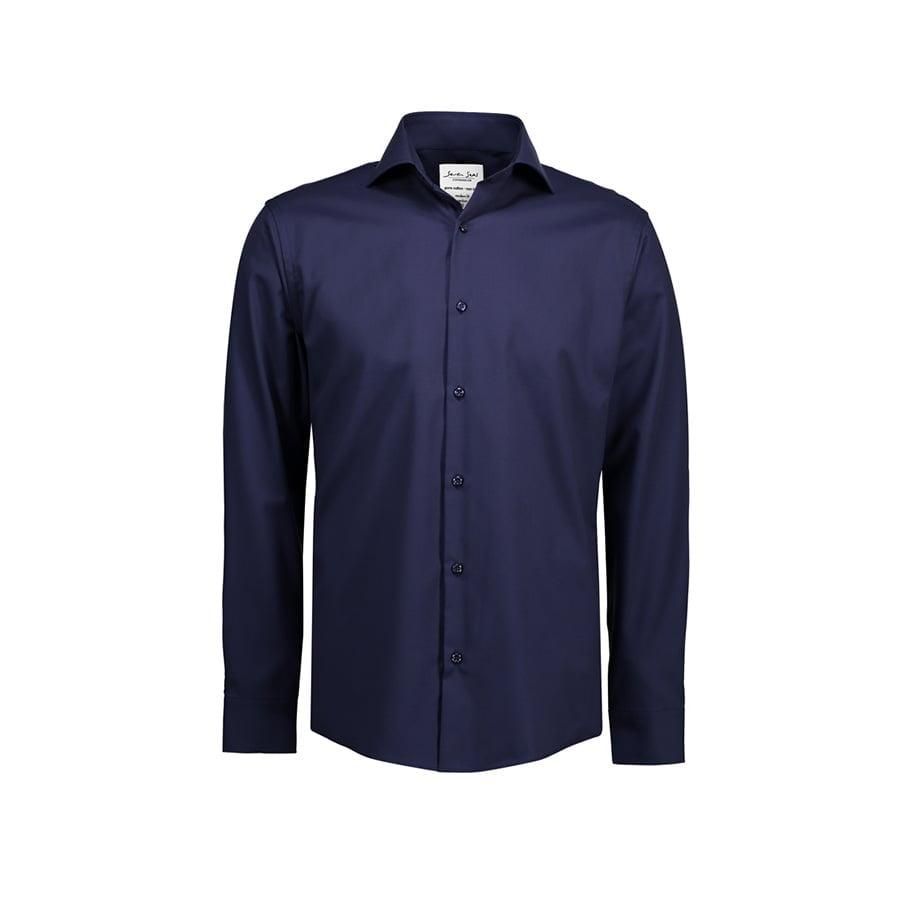Koszule i bluzki - Biznesowa koszula z tkaniny fine twill SS8 - Seven Seas SS8 - Navy - RAVEN - koszulki reklamowe z nadrukiem, odzież reklamowa i gastronomiczna