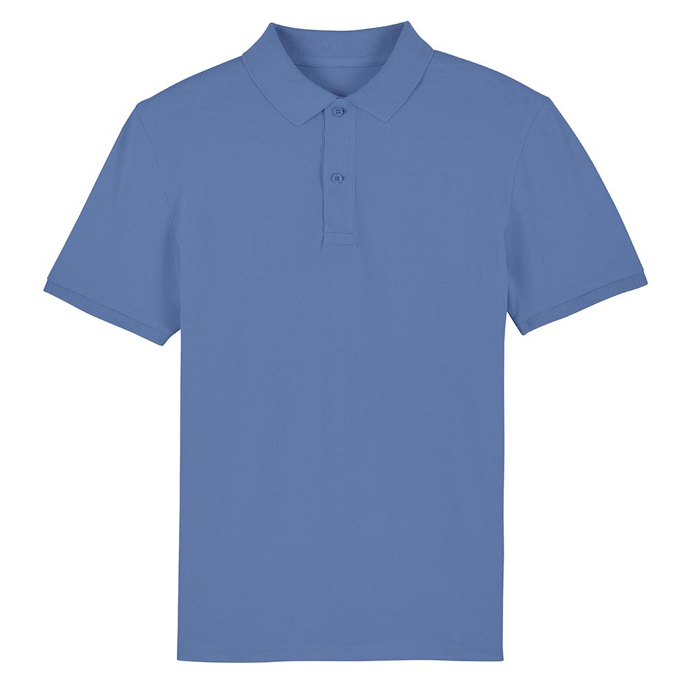 Koszulki Polo - Męska koszulka Polo Stanley Dedicator - STPM563 - Bright Blue - RAVEN - koszulki reklamowe z nadrukiem, odzież reklamowa i gastronomiczna