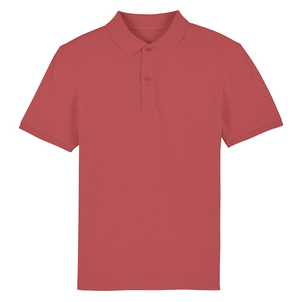 Koszulki Polo - Męska koszulka Polo Stanley Dedicator - STPM563 - Carmine Red - RAVEN - koszulki reklamowe z nadrukiem, odzież reklamowa i gastronomiczna