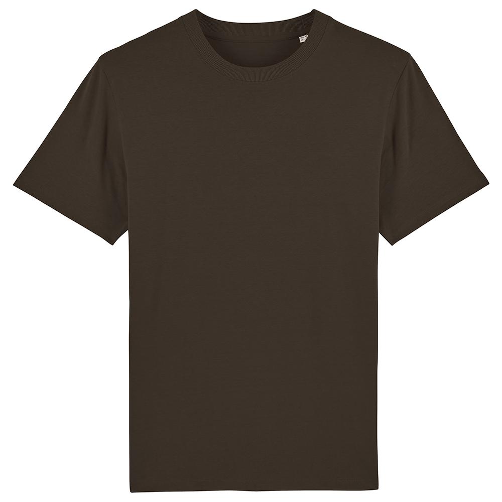 Koszulki T-Shirt - Męski T-shirt Stanley Sparker - STTM559 - Deep chocolate - RAVEN - koszulki reklamowe z nadrukiem, odzież reklamowa i gastronomiczna