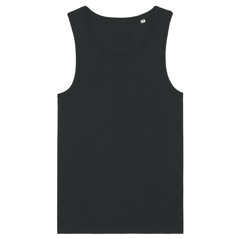 Koszulki T-Shirt - Męski tank top Stanley Specter - STTM543 - Black - RAVEN - koszulki reklamowe z nadrukiem, odzież reklamowa i gastronomiczna