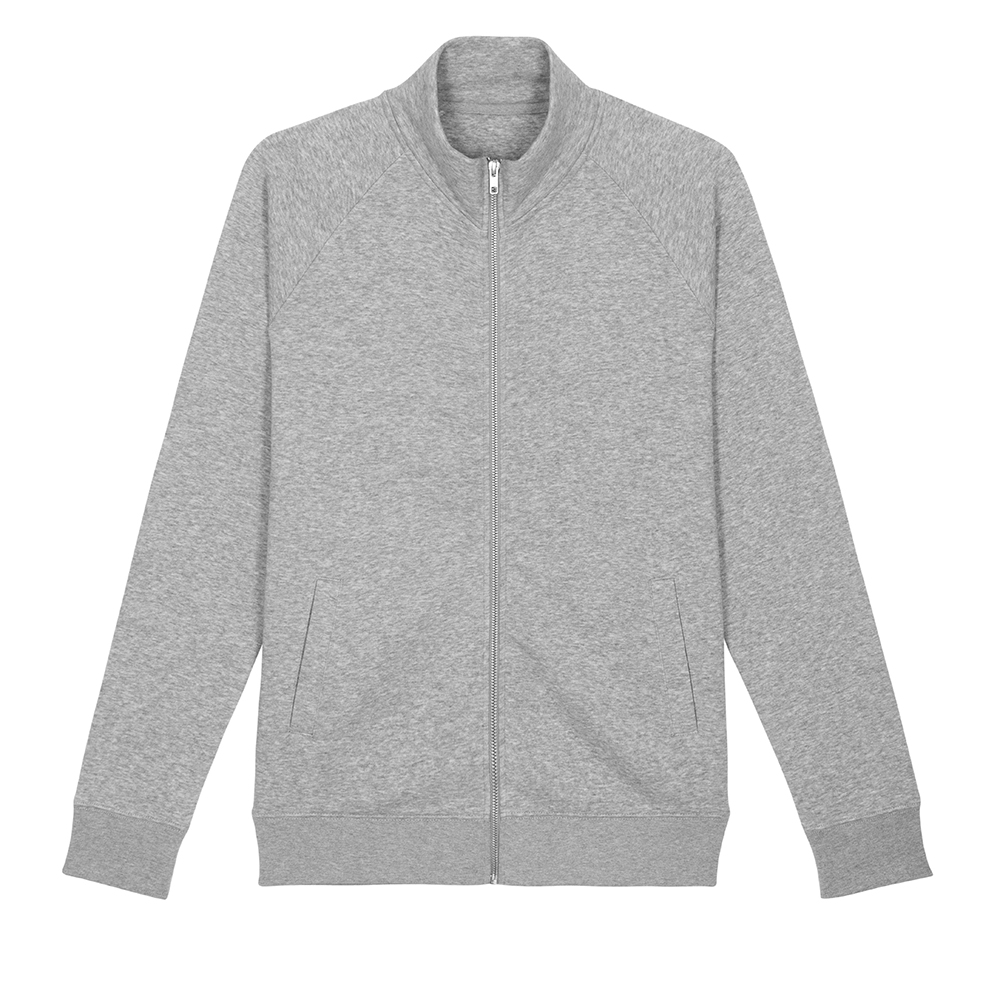 Bluzy - Bluza rozpinana Stanley Trailer - STSM612 - RAVEN - koszulki reklamowe z nadrukiem, odzież reklamowa i gastronomiczna
