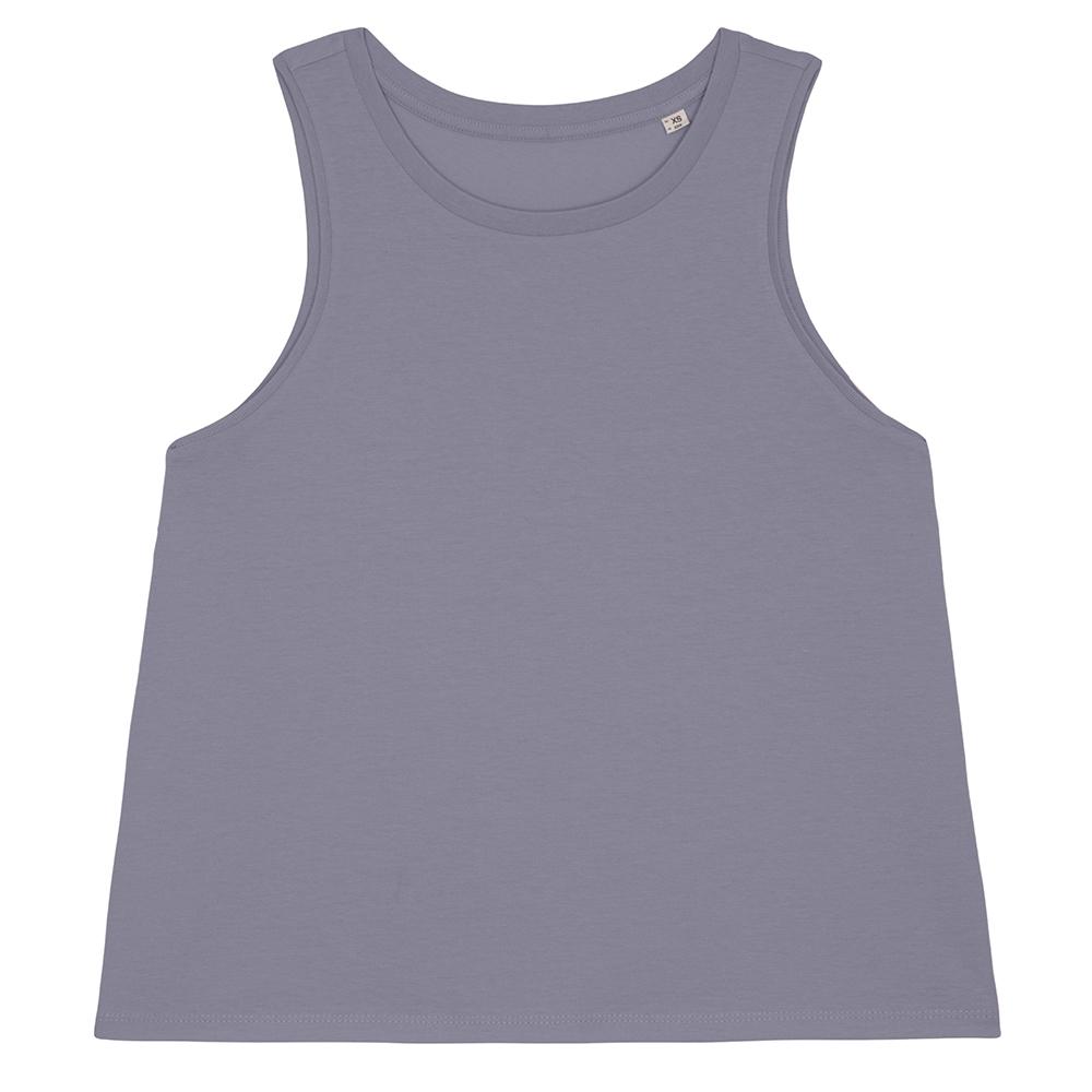 Koszulki T-Shirt - Damski tank top Stella Dancer - STTW038 - Lava Grey - RAVEN - koszulki reklamowe z nadrukiem, odzież reklamowa i gastronomiczna