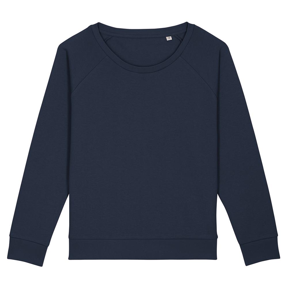 Bluzy - Damska bluza Stella Dazzler - STSW125 - French Navy - RAVEN - koszulki reklamowe z nadrukiem, odzież reklamowa i gastronomiczna