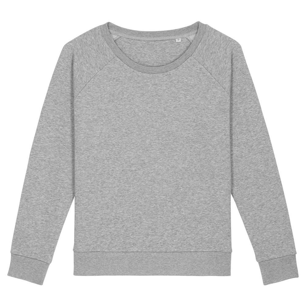 Bluzy - Damska bluza Stella Dazzler - STSW125 - Heather Grey - RAVEN - koszulki reklamowe z nadrukiem, odzież reklamowa i gastronomiczna