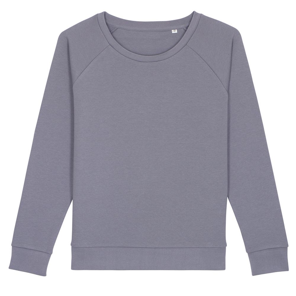 Bluzy - Damska bluza Stella Dazzler - STSW125 - Lava Grey - RAVEN - koszulki reklamowe z nadrukiem, odzież reklamowa i gastronomiczna