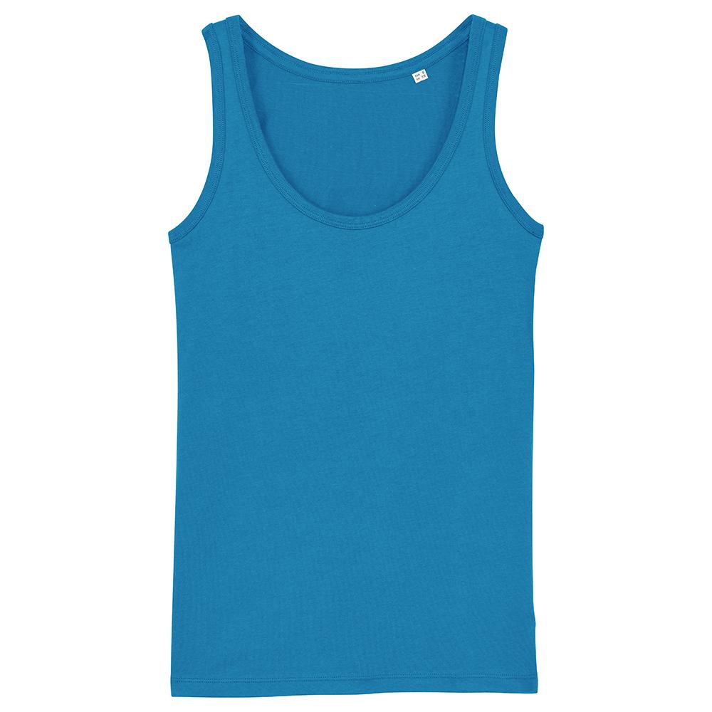 Koszulki T-Shirt - Damski Tank Top Stella Dreamer - STTW013 - Azure - RAVEN - koszulki reklamowe z nadrukiem, odzież reklamowa i gastronomiczna