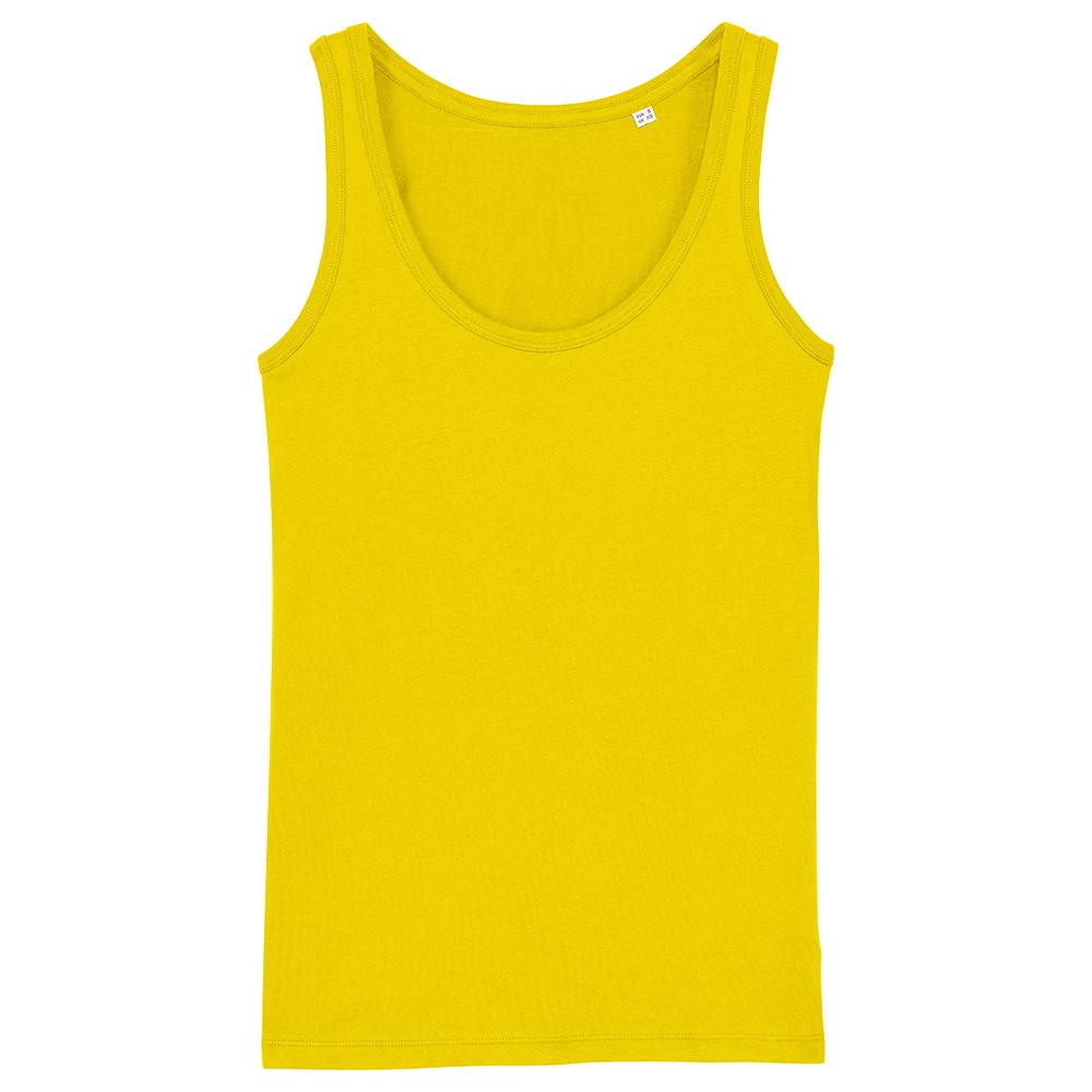 Koszulki T-Shirt - Damski Tank Top Stella Dreamer - STTW013 - Golden Yellow - RAVEN - koszulki reklamowe z nadrukiem, odzież reklamowa i gastronomiczna