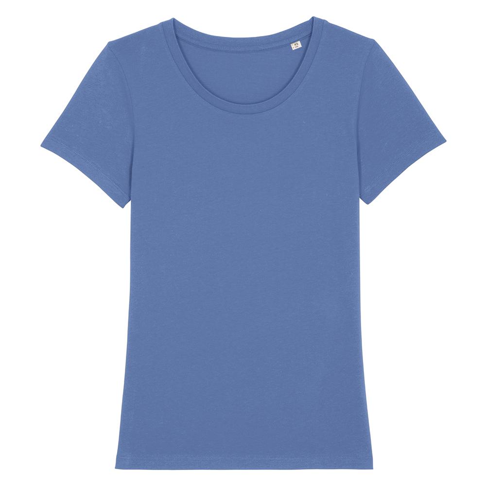 Koszulki T-Shirt - Damski T-shirt Stella Expresser - STTW032 - Bright Blue - RAVEN - koszulki reklamowe z nadrukiem, odzież reklamowa i gastronomiczna