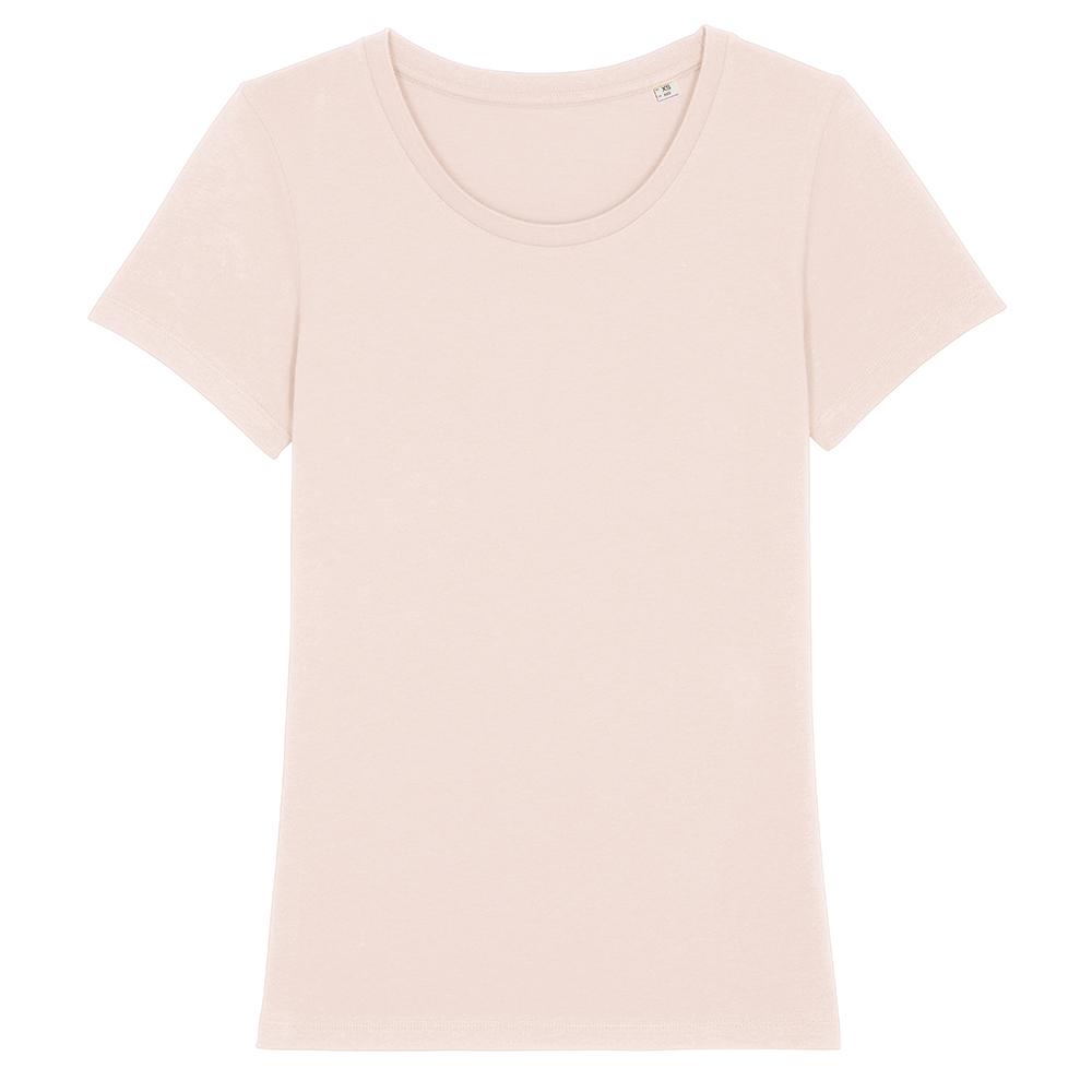 Koszulki T-Shirt - Damski T-shirt Stella Expresser - STTW032 - Candy Pink - RAVEN - koszulki reklamowe z nadrukiem, odzież reklamowa i gastronomiczna