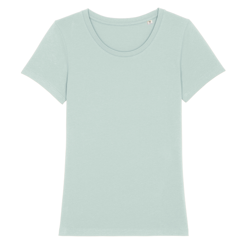 Koszulki T-Shirt - Damski T-shirt Stella Expresser - STTW032 - Caribbean Blue - RAVEN - koszulki reklamowe z nadrukiem, odzież reklamowa i gastronomiczna
