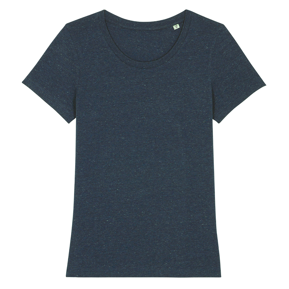 Koszulki T-Shirt - Damski T-shirt Stella Expresser - STTW032 - Dark Heather Denim - RAVEN - koszulki reklamowe z nadrukiem, odzież reklamowa i gastronomiczna