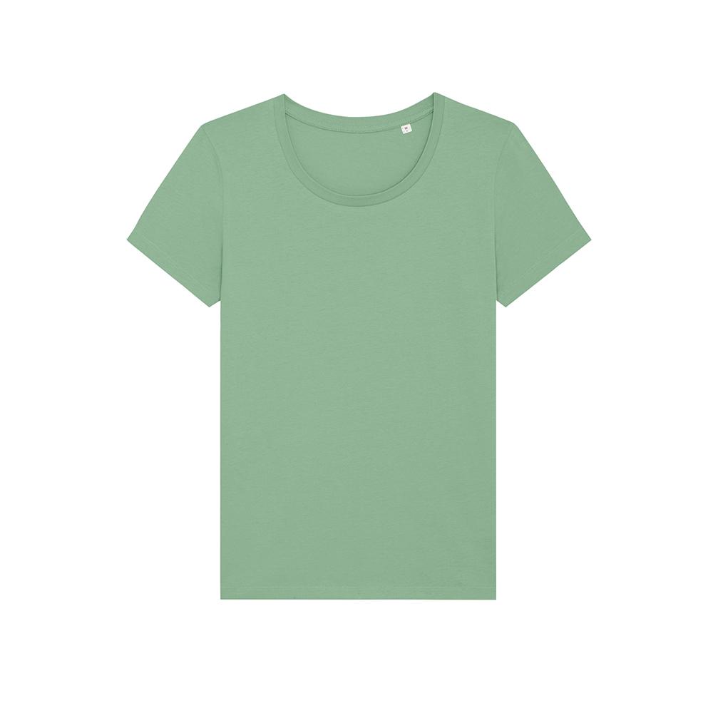 Koszulki T-Shirt - Damski T-shirt Stella Expresser - STTW032 - Dusty Mint - RAVEN - koszulki reklamowe z nadrukiem, odzież reklamowa i gastronomiczna