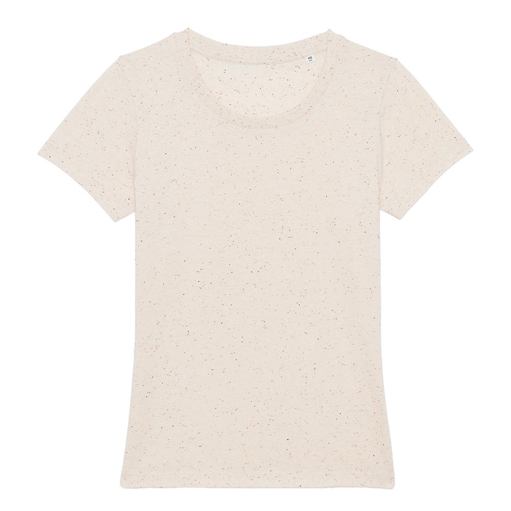 Koszulki T-Shirt - Damski T-shirt Stella Expresser - STTW032 - Ecru Neppy Mandarine - RAVEN - koszulki reklamowe z nadrukiem, odzież reklamowa i gastronomiczna
