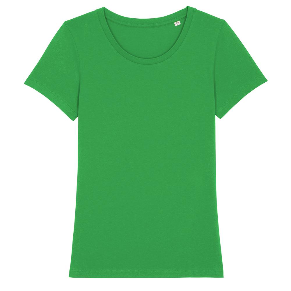 Koszulki T-Shirt - Damski T-shirt Stella Expresser - STTW032 - Fresh Green - RAVEN - koszulki reklamowe z nadrukiem, odzież reklamowa i gastronomiczna