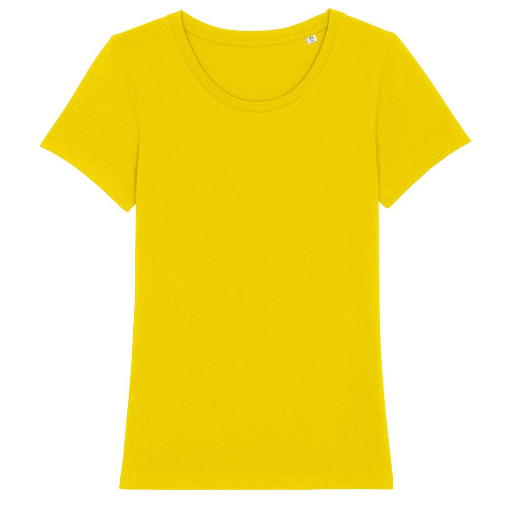 Koszulki T-Shirt - Damski T-shirt Stella Expresser - STTW032 - Golden Yellow - RAVEN - koszulki reklamowe z nadrukiem, odzież reklamowa i gastronomiczna