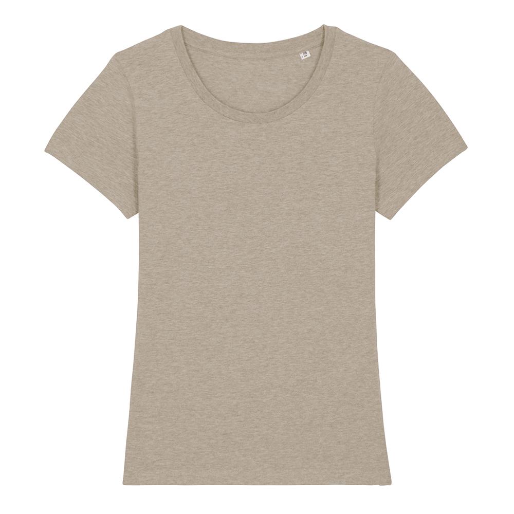 Koszulki T-Shirt - Damski T-shirt Stella Expresser - STTW032 - Heather Sand - RAVEN - koszulki reklamowe z nadrukiem, odzież reklamowa i gastronomiczna