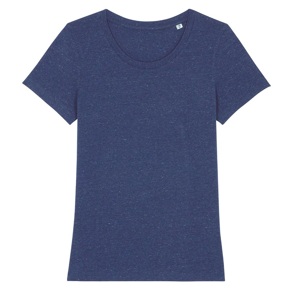 Koszulki T-Shirt - Damski T-shirt Stella Expresser - STTW032 - Heather Snow Mid Blue - RAVEN - koszulki reklamowe z nadrukiem, odzież reklamowa i gastronomiczna