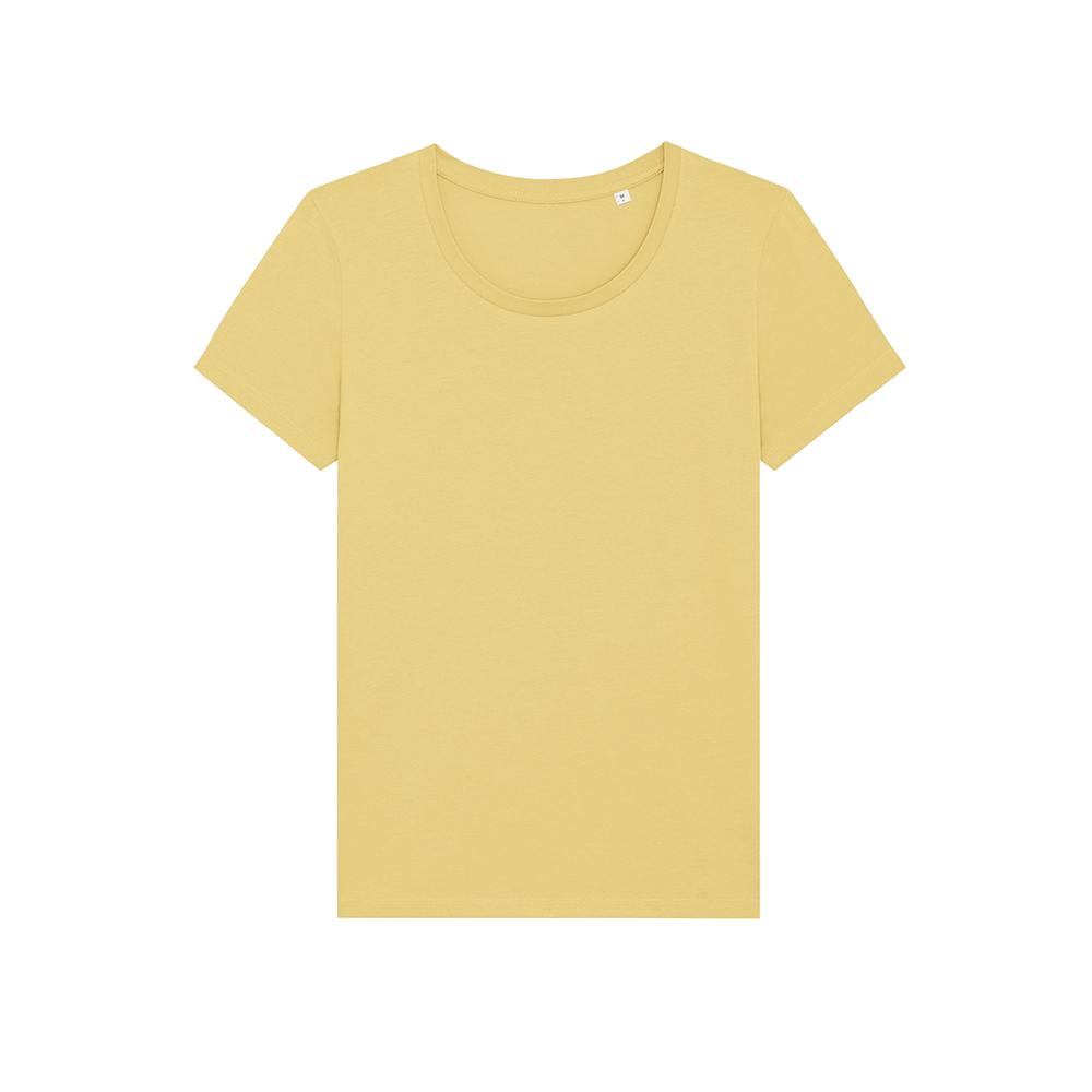 Koszulki T-Shirt - Damski T-shirt Stella Expresser - STTW032 - Jojoba - RAVEN - koszulki reklamowe z nadrukiem, odzież reklamowa i gastronomiczna
